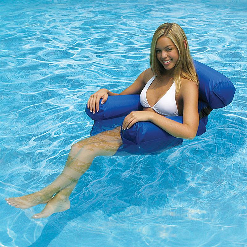 Aquafun Water Chair Lounger Swimming Pool Chair Chaise