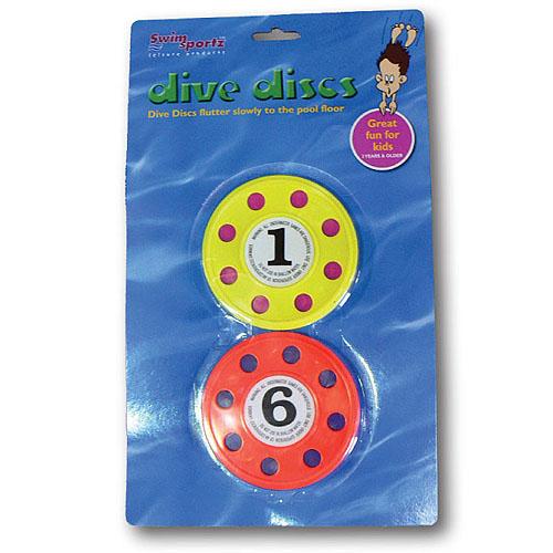 Swimsportz Dive Discs - Swimming Pool Game / Toy