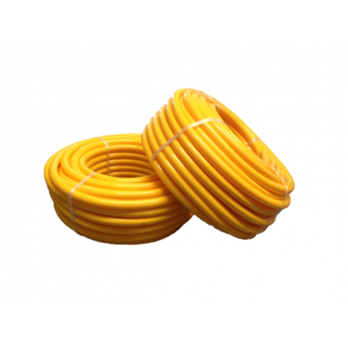 19mm Yellow Flexible Water Hose, 50 Meter Roll (Spa Plumbing Part)