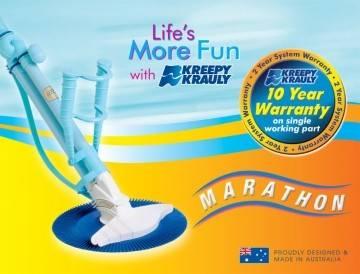 Kreepy Krauly Marathon Pool Cleaner