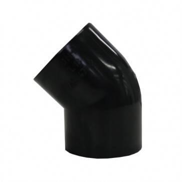 Vinidex PVC 45° 40mm Elbow Black