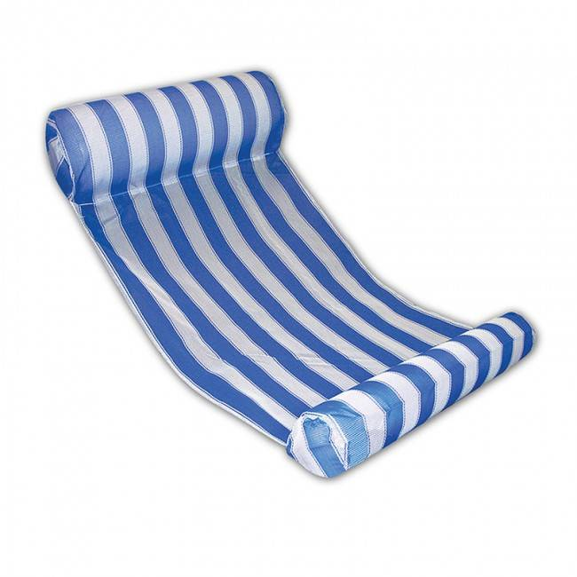 Aquafun water hammock lounger swimming pool bed for Swimming pool bed