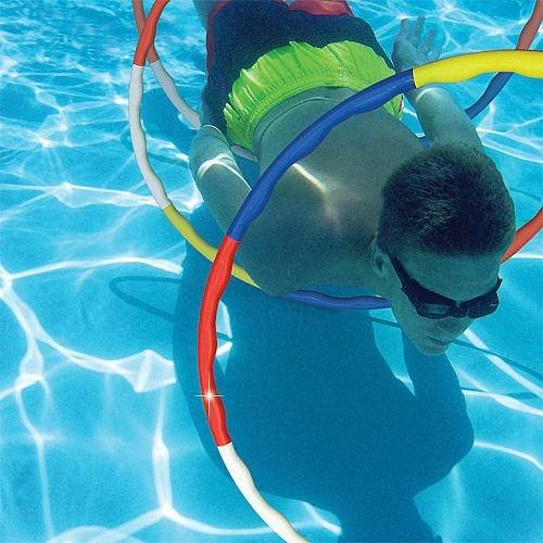 Poolmaster Dolphin Slalom Game 3x Dive Rings Swimming Pool Toy