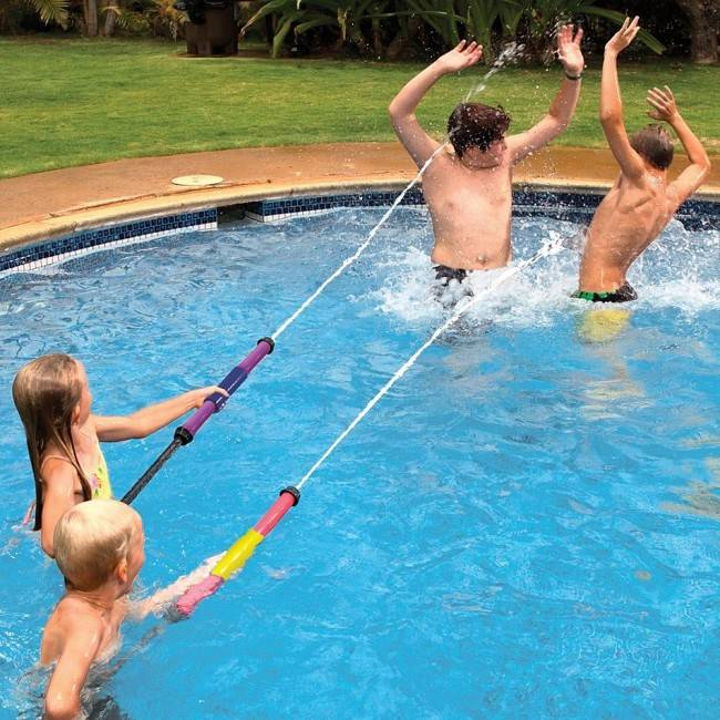 Poolmaster water pop power launcher twin pack swimming for Pack swimming