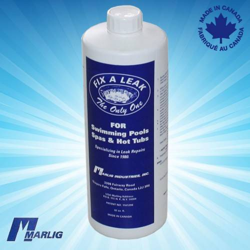 Marlig fix a leak sealer for pool leaks surface plumbing 1 litre How to fix a swimming pool leak