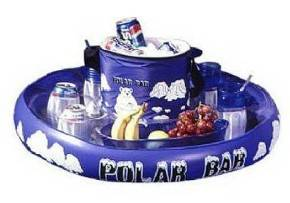 Aquafun Polar Bar Inflatable Cooler Float For Swimming Pool Spa Beach