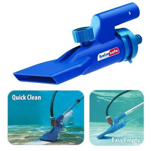 Supa vac pool spa pond fountain underwater vacuum cleaner venturi pump for Swimming pool vacuum pump cleaners