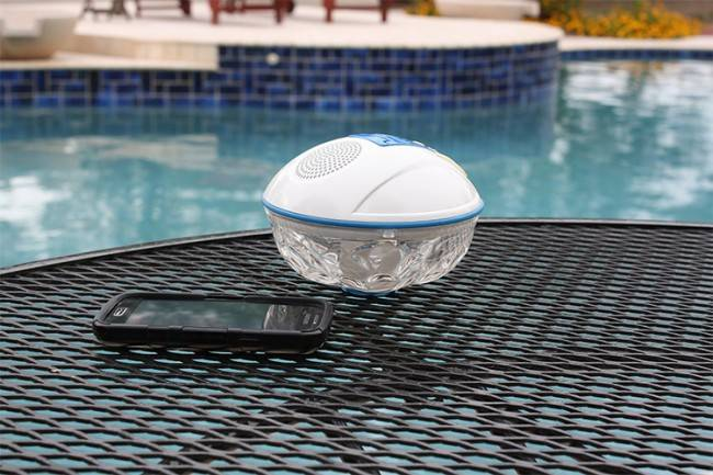 G A M E Floating Bluetooth Speaker Light Show For Iphone Android Wireless Rechargeable