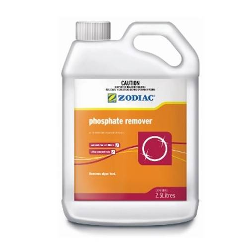 Zodiac phosphate remover 2 5 l pool chemical - How to lower phosphates in swimming pool ...