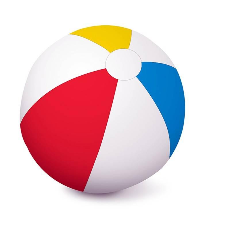 Aquafun 90cm Matt Beach Ball Swimming Pool Toy
