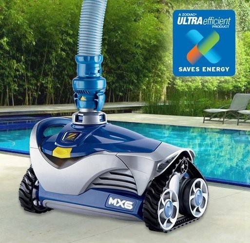 Zodiac Mx6 Baracuda Pool Cleaner With X Drive Navigation Above Amp In Ground Wall Climber