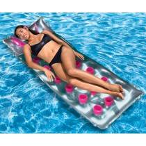 AquaFun French Pocket Swimming Pool Lounger - Inflatable Air Bed - 178x71cm