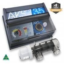 Poolrite AKS 350 35g Pool Chlorinator 4Y Warranty (Retrofits All AKS, Surechlor, Enduro & Endurochlor Chlorinators)