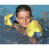 AquaFun Deluxe Arm Band Floaties - Swimming Pool Float / Toy