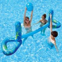 Aquafun Floating Water Volleyball Set - Swimming Pool Toy - 229x50cm