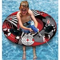 Aquafun Bump N Squirt Tube - Swimming Pool Toy / Float - 107cm