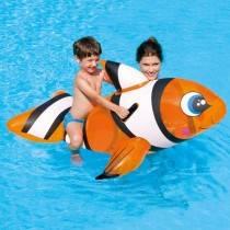 AquaFun Clown Fish Ride On Swimming Pool Toy / Inlfatable