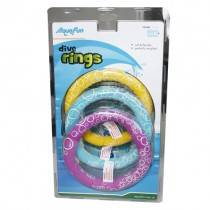 AquaFun Dive Rings - Pool Game / Toy