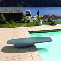 S.R. Smith Mondo Diving Platform/Board (Granite-Grey)