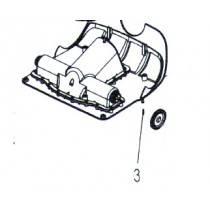 Polaris 9300 / Zodiac V3 4WD Pin 3x16 A4 W1021A - Pool Cleaner Spare Part