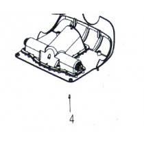 Polaris 9300 / Zodiac V3 4WD Screw VP TCL POZI 4X12 A2 W1025A - Pool Cleaner Spare Part