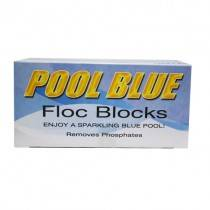 Pool Blue Floc Blocks 2-Pack - Pool Flocculant / Clarifying Pool Chemical