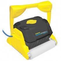 Davey PoolSweepa Wallclima Robotic Pool Cleaner w/Wonder Brush for Tiles & Fiberglass
