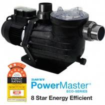 Davey Powermaster ECO Energy Efficient Pool Pump, 8 Star Rated
