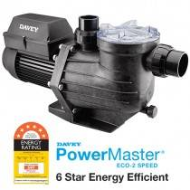 Davey Powermaster ECO2 Energy Efficient Pool Pump, 6 Star Rated