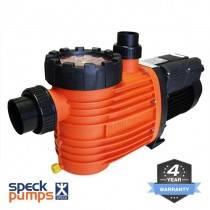 Speck Pro 230 Pool Pump, 1.0HP 230lpm 0.75kW 4Y Warranty