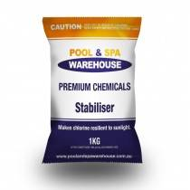 Premium Pool Stabiliser / UV Blockout / Sunscreen 1kg - Pool Chemical