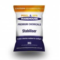 Premium Pool Stabiliser / UV Blockout / Sunscreen 3kg - Pool Chemical