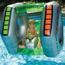 SwimSportz Starfighter Super Squirter - Swimming Pool Inflatable / Float / Toy