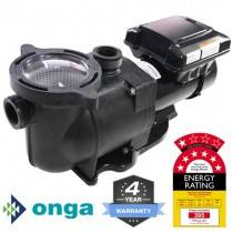 Onga SuperFlo VS ECO Energy Efficient Pool Pump w/24hr timer, 4Y Warranty, 7 Star Rated