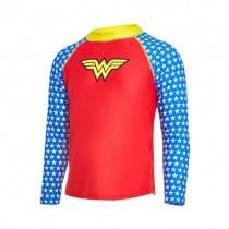 Zoggs Wonder Woman Long Sleeve Top (2-6 Years)