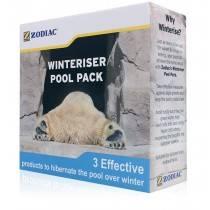 Zodiac Winteriser Pool Pack: 1L Algaecide + 1L Starver + 1L Clarifier - 6 months protection - Pool Chemical