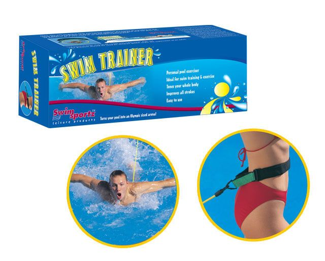 swimming trainer swimming without counter-current system Ailyoo Swimming belt suitable for every pool for children//adults swimming resistance pool swimming belt