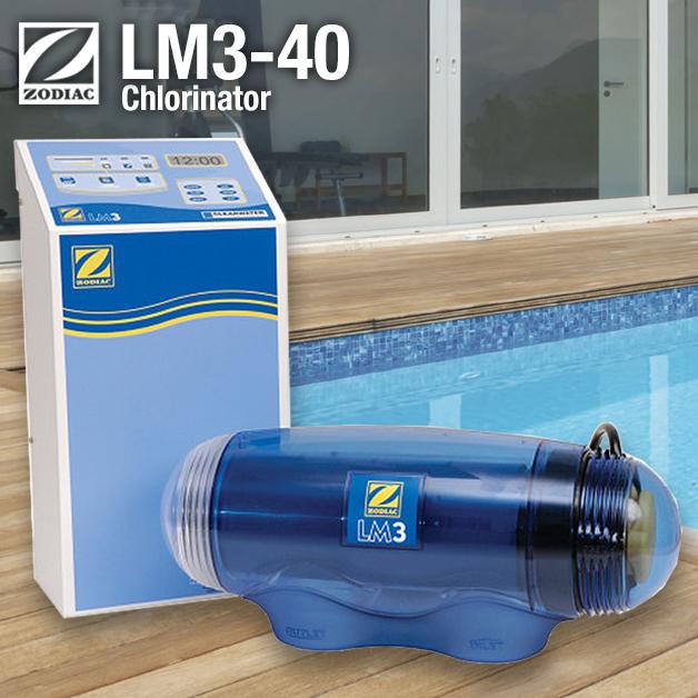Zodiac LM3 40 Salt Chlorinator - Self Cleaning, Latest Model (LM3-40)
