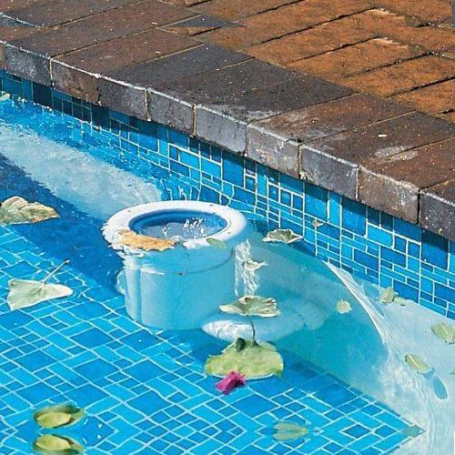 Poolskim Automated Pool Surface / Leaf Skimmer - Return Line Surface Cleaner