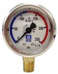 Pressure Gauge Oil Filled (for pool sand filter) - Filter Spare Part