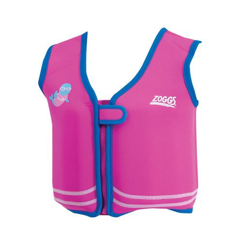 Zoggs Bobin Jacket Swim Vest / Float for 2-3 Year olds 15 -18 Kg Pink