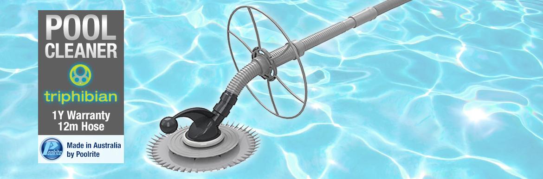 Poolrite Triphibian Pool Cleaner
