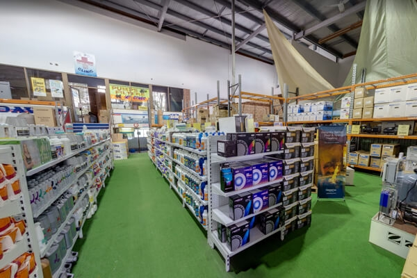 Pool & Spa Warehouse Bankstown, Inside